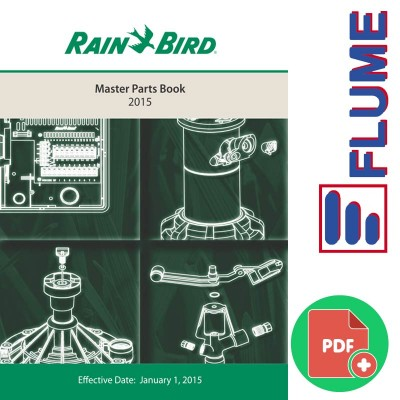 Libro despieces Rainbird 2015
