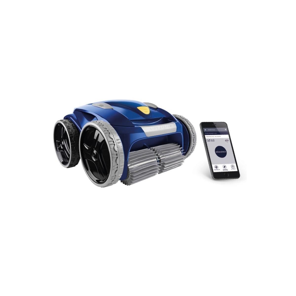 Zodiac robot piscina 4 ruedas vortex rv5480 iq (fondo-pared) (12x6m)