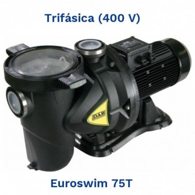Dab bomba piscinas euroswim 75t (0