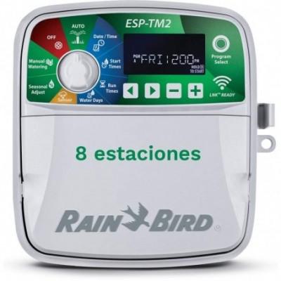 programador esp-tm2 exterior 8 estaciones (wi-fi)
