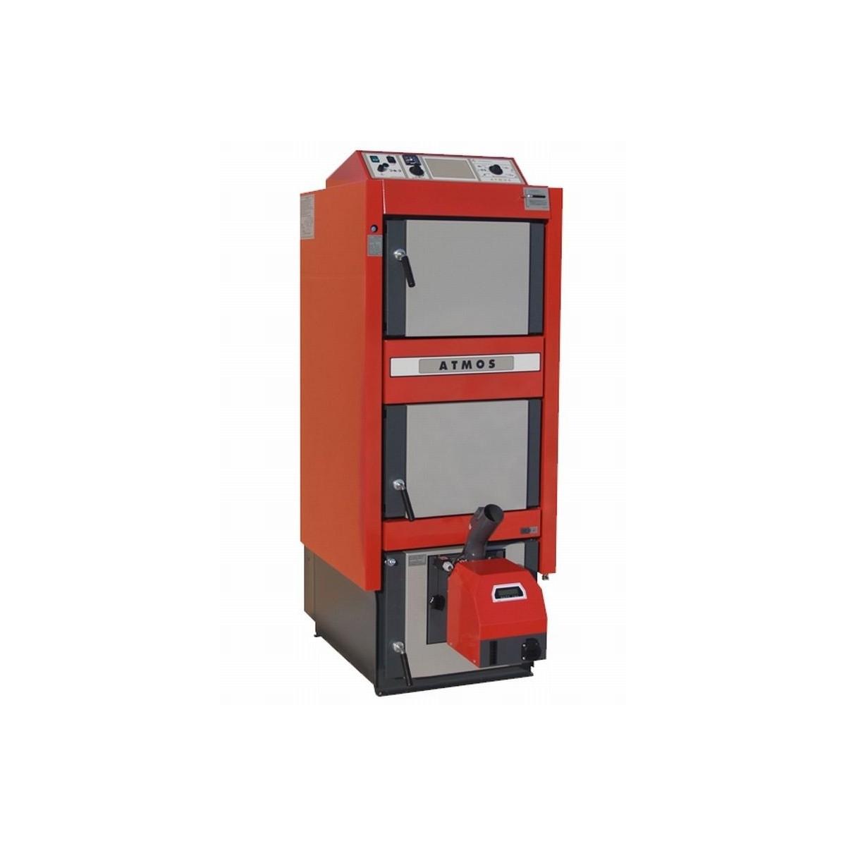 Atmos caldera gasificacion comb. leña/pellets dc32sp 35/6-20kw (sin kit ni quemador)