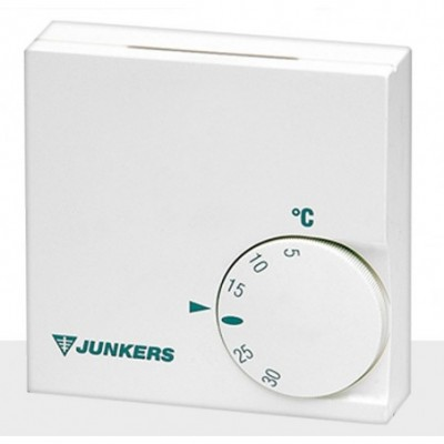 Termostato ambiente tr12 calor analogico 220v junkers