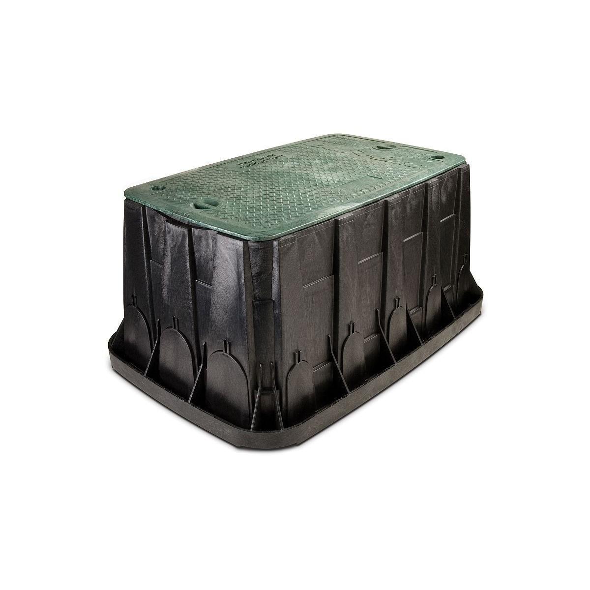 Arqueta hdpe rainbird rectangular maxi jumbo + cierre.102.4x68.8x45.7