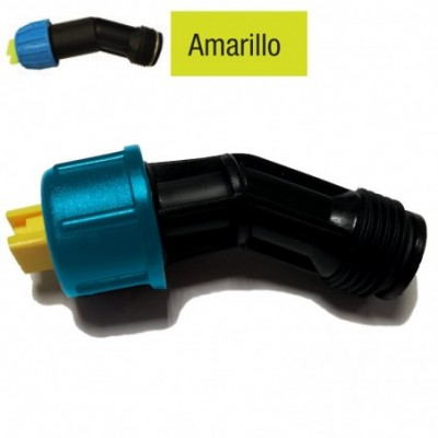 Matabi boquilla de aire inducido abanico amarillo al 80/0.8/.3