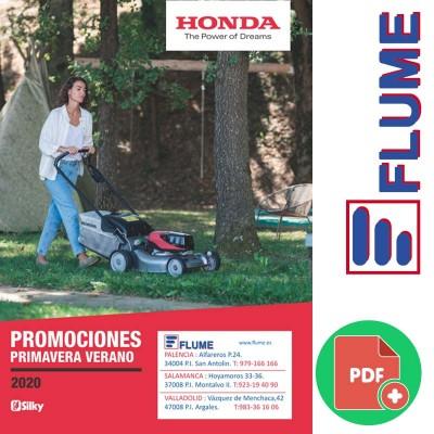 Folleto ofertas Honda y Silky primavera verano 2020