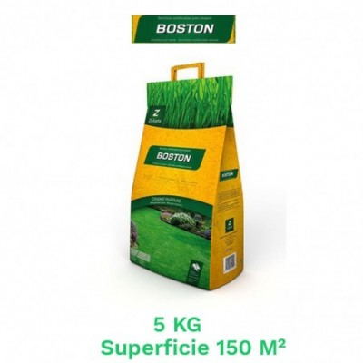 Saco 5 kg semillas cesped boston