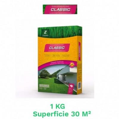 Caja 1 kg semillas cesped classic