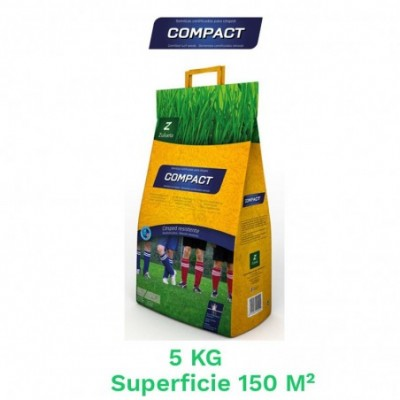 Saco 5 kg semillas cesped compact