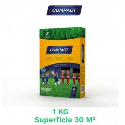 Caja 1 kg semillas cesped compact