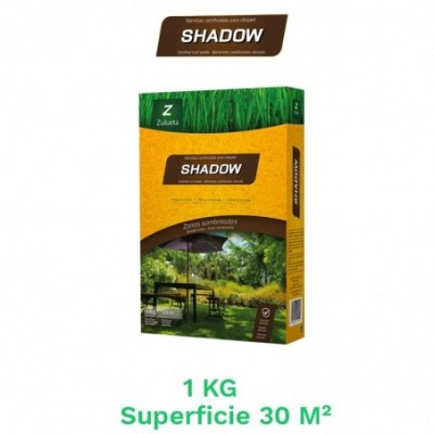 Caja 1  kg semillas cesped shadow