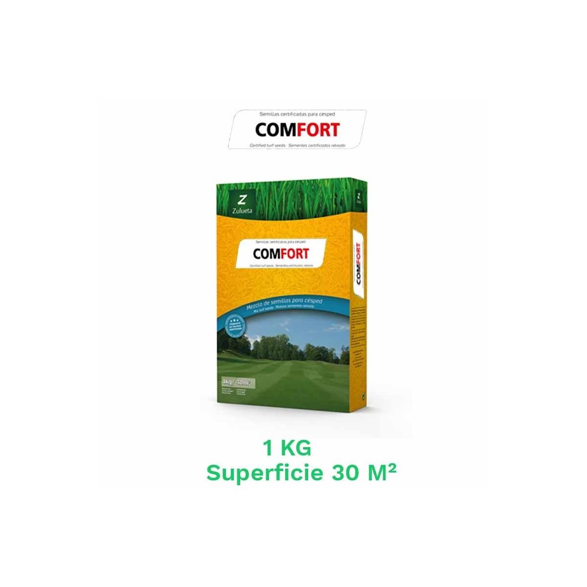 Caja 1  kg semillas cesped comfort