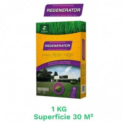 Caja 1 kg semillas cesped resiembra regenerator
