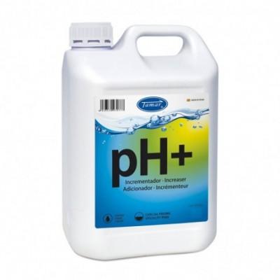 Incrementador de ph+ liquido garrafa 20l