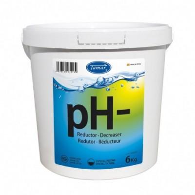 Reductor de ph- granulado bote 6 kg