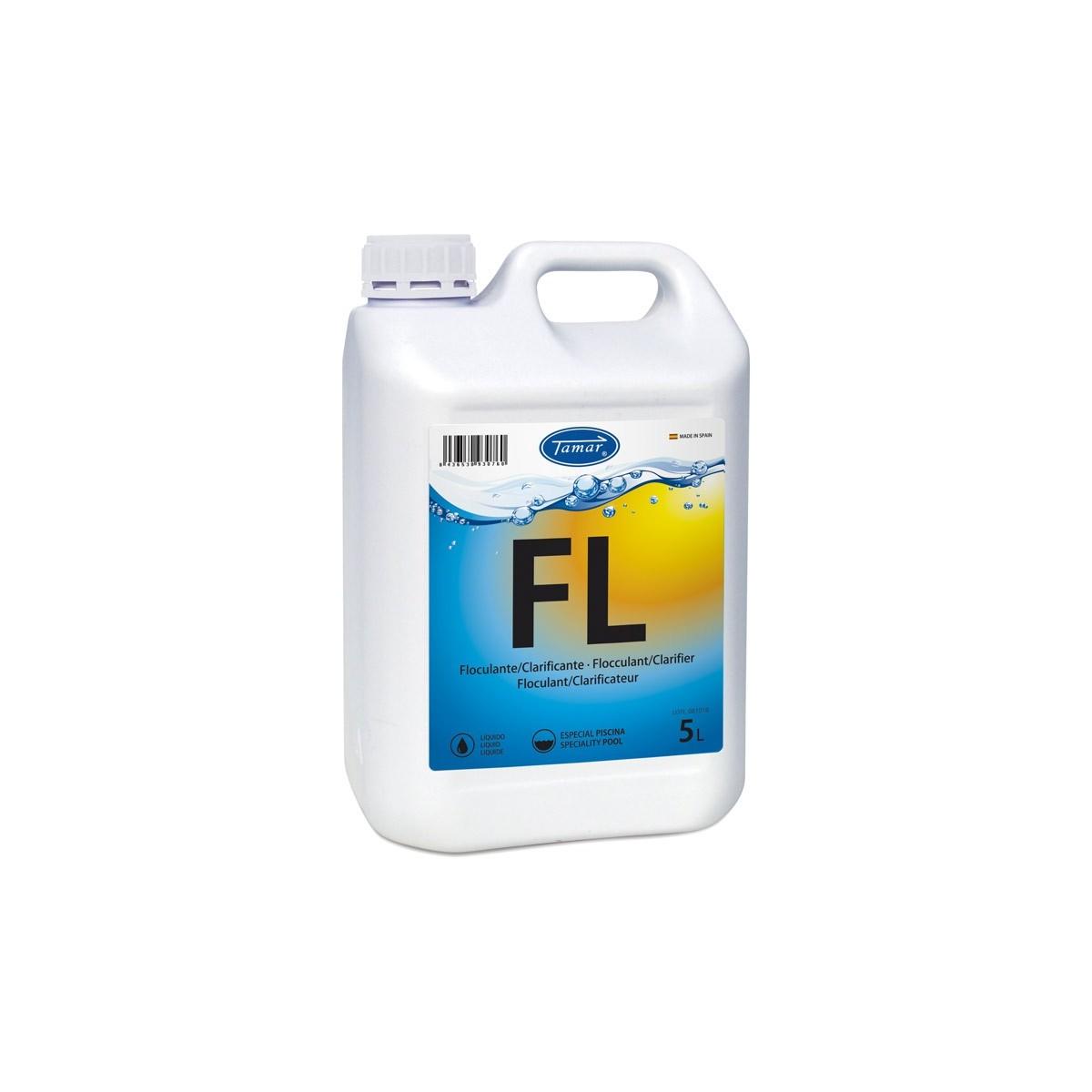 Floculante piscinas liquido garrafa 5l