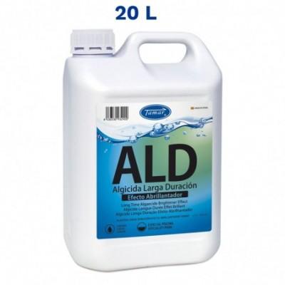 Algicida abrillantador sin espuma larga duracion garrafa 20 l