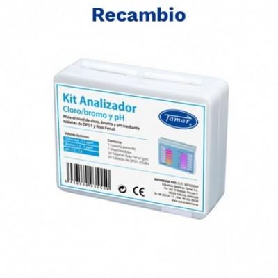 Recambio estuche kit (pastillas) analizador cloro