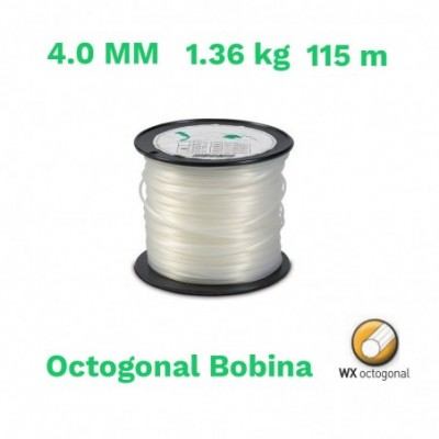 Echo hilo nylon octogonal bobina 4.0 mm 1.36 kg 115 m