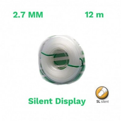Echo hilo nylon silent display 2.7mm 12 m