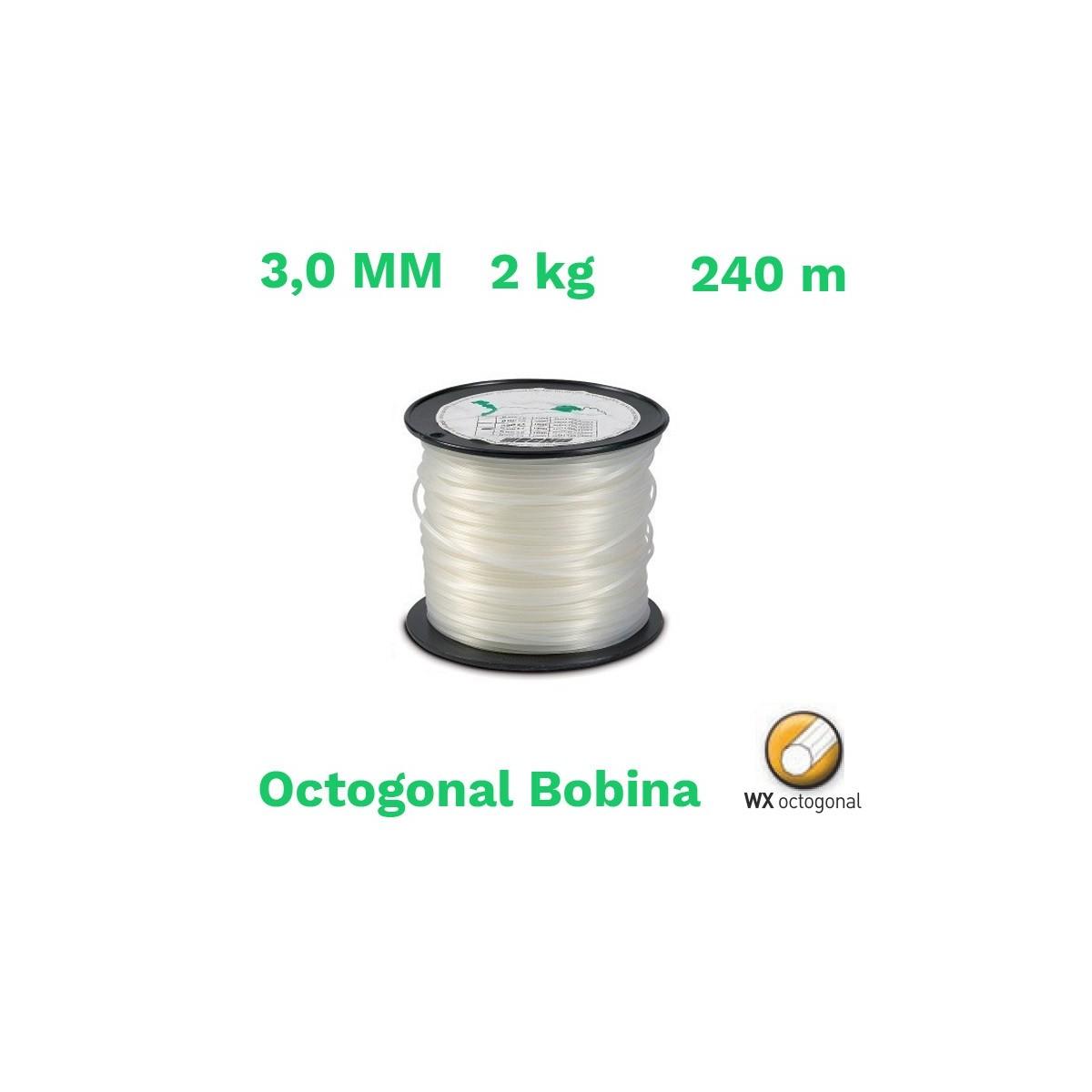 Echo hilo nylon octogonal bobina 3