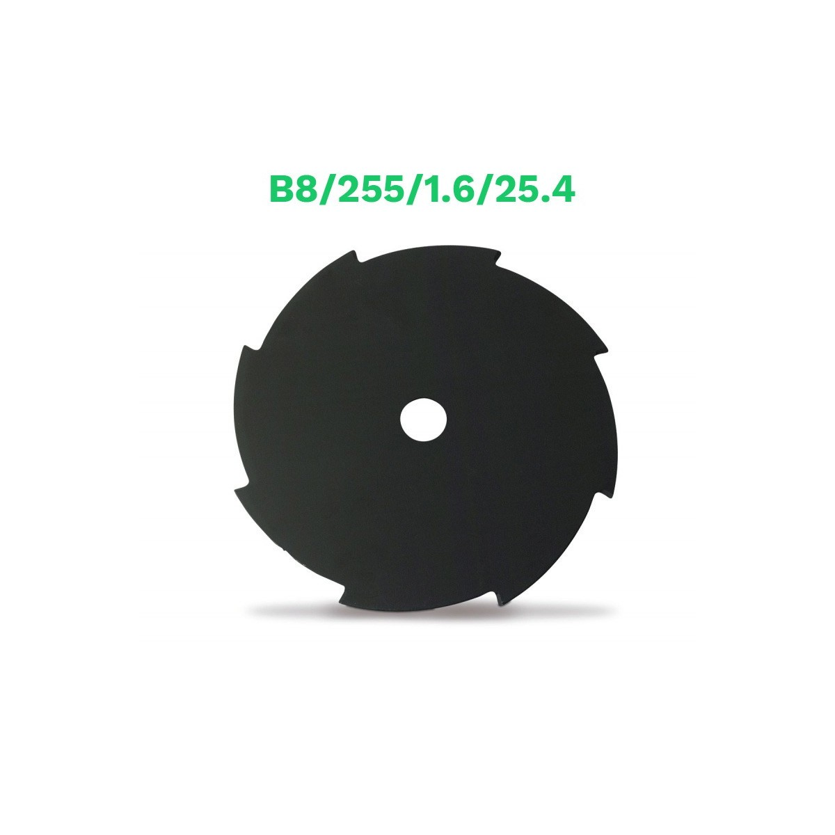 Echo disco metalico 8 dientes b8/255/1.6/25.4