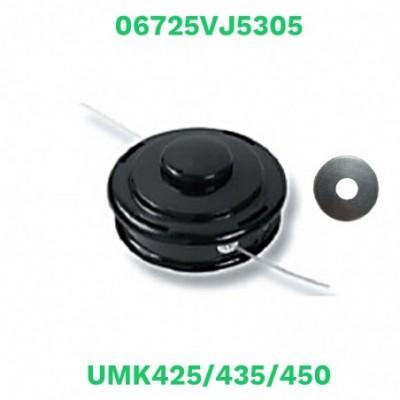Honda cabezal semiautomatico nylon umk425/435/450 con arandela (06725vj5305)