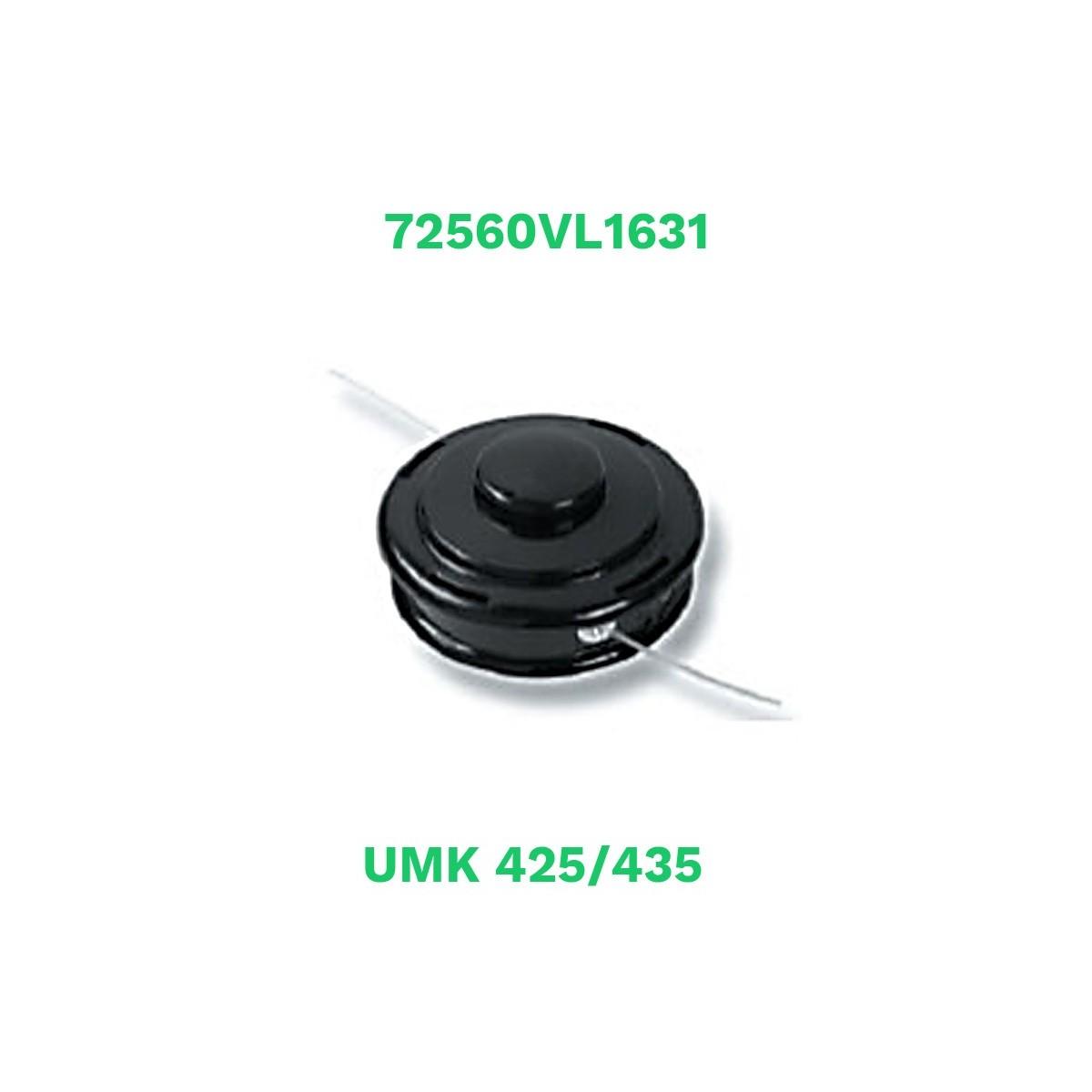Honda cabezal semiautomatico nylon umk425/435 (72560vl1631)
