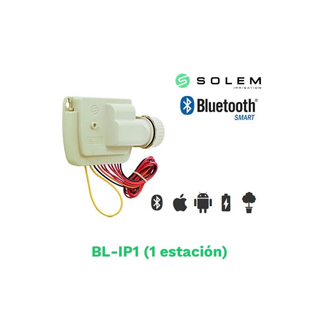 Modulo programador solem dc 9v bl-ip1 1 estacion bluetooth