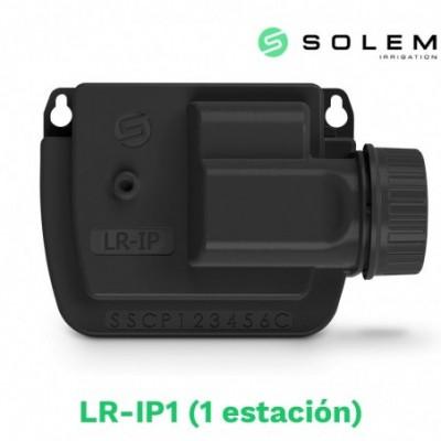 Modulo programador solem (lora) 9v lr-ip 1 estacion (radio y bluetooth)
