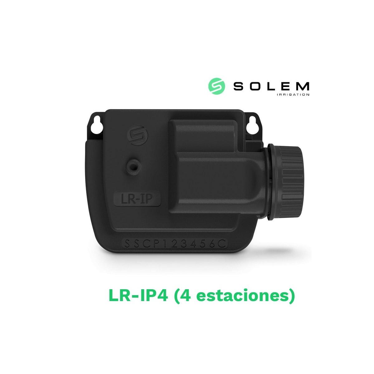 Modulo programador solem (lora) 9v lr-ip 4 estaciones (radio y bluetooth)
