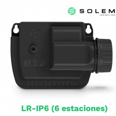 Modulo programador solem (lora) 9v lr-ip 6 estaciones (radio y bluetooth)