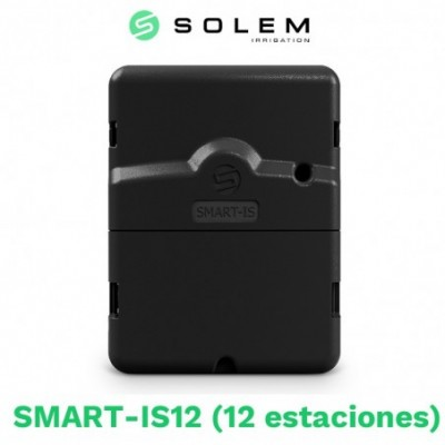 Programador solem smart-is 24v 12 estaciones (wifi/bluetooth)