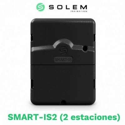 Programador solem smart-is 24v 2 estaciones (wifi/bluetooth)