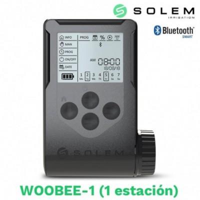Programador solem woobee 1 estacion (bateria/pantalla/bluetooth)