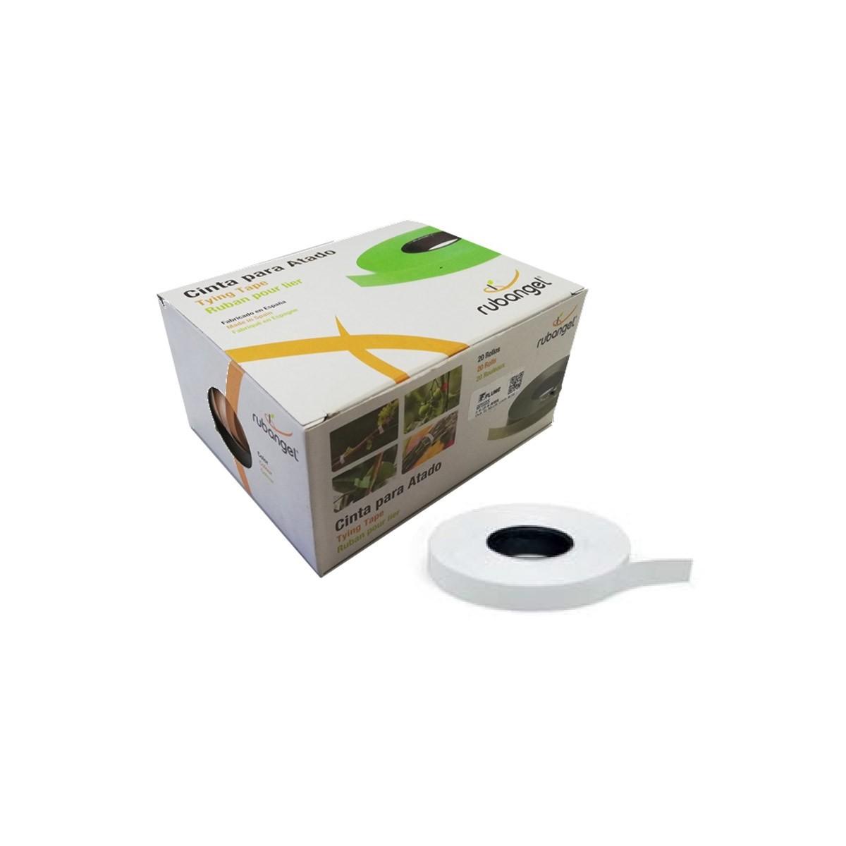 Caja 20 rollos cinta blanca para atadora manual