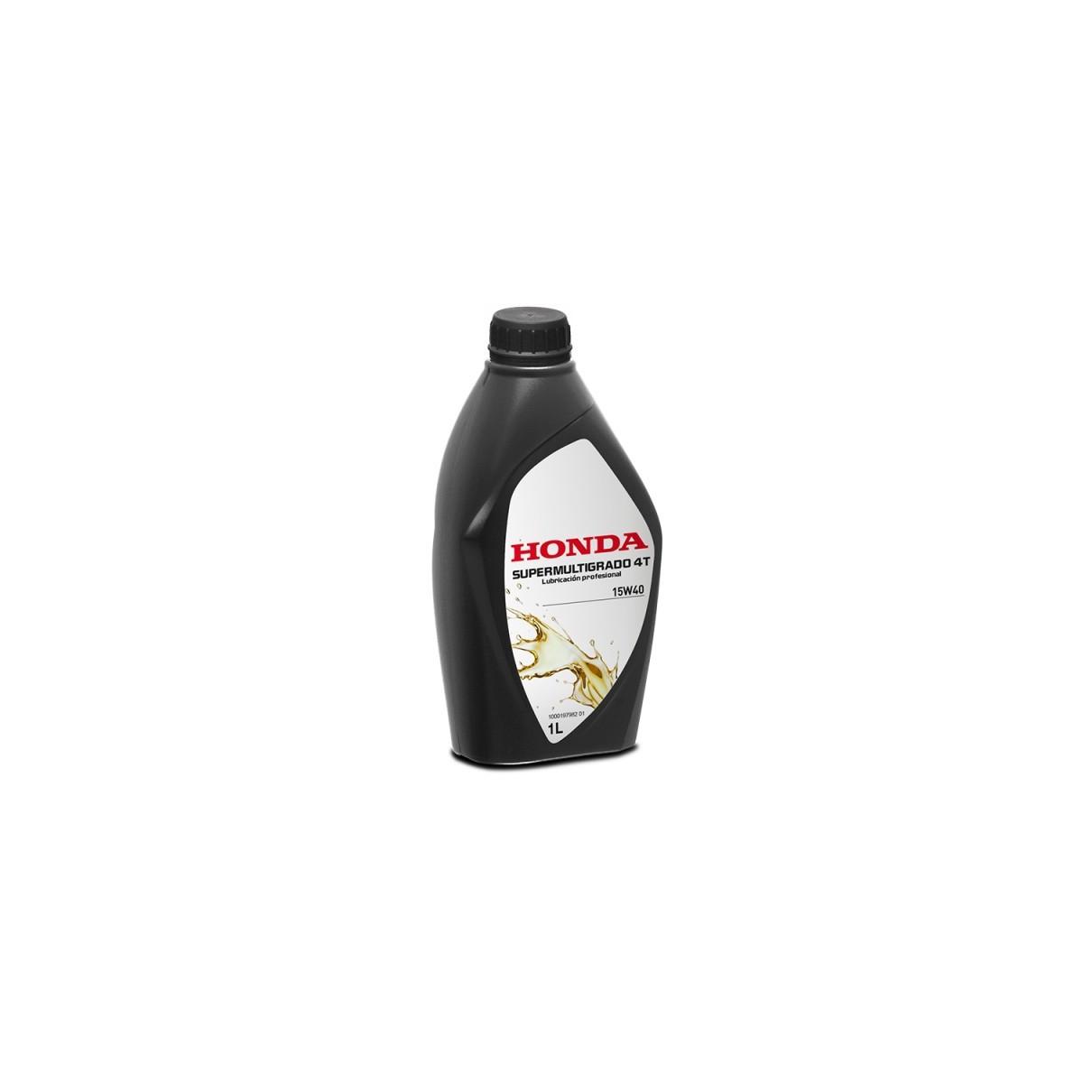 Honda aceite 4t 1l (supermultigrado 15w40) (sigaus incluido)