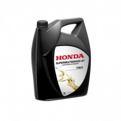 Honda aceite 4t 5l (supermultigrado 15w40) (sigaus incluido)