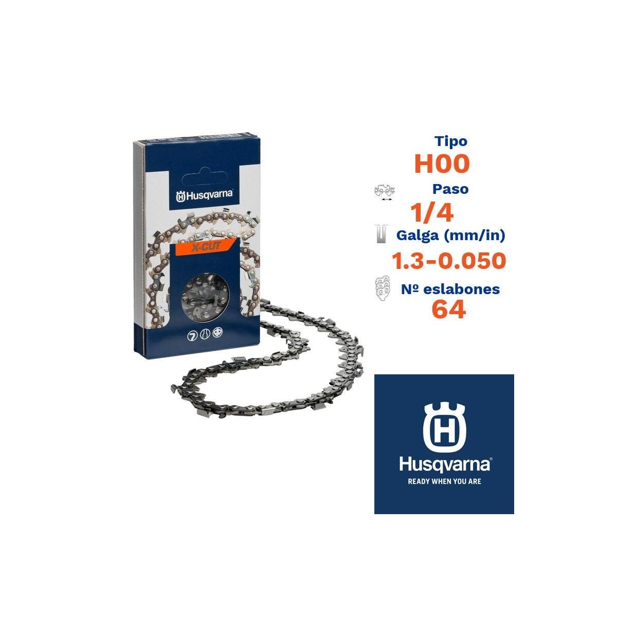 Husqv. cadena cortada h00 1