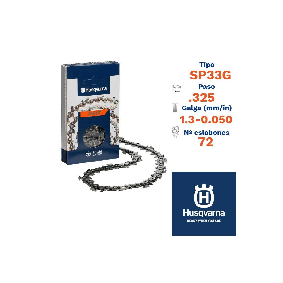 Husqv. cadena cortada sp33g 1