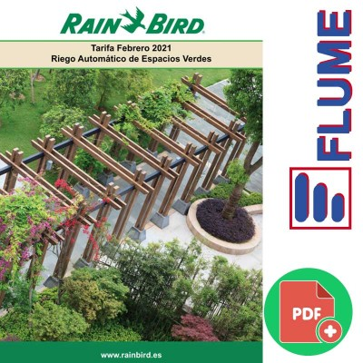 Descarga la tarifa Rain Bird Febrero 2021 en FLUME