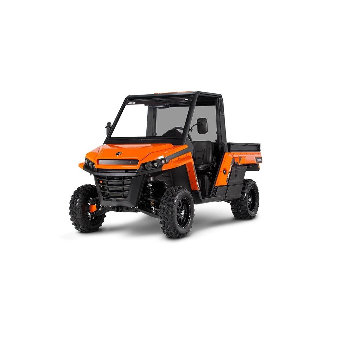 Corvus terrain dx4 pro vehiculo multiusos diesel 24cv+basculante 450kg eur/día