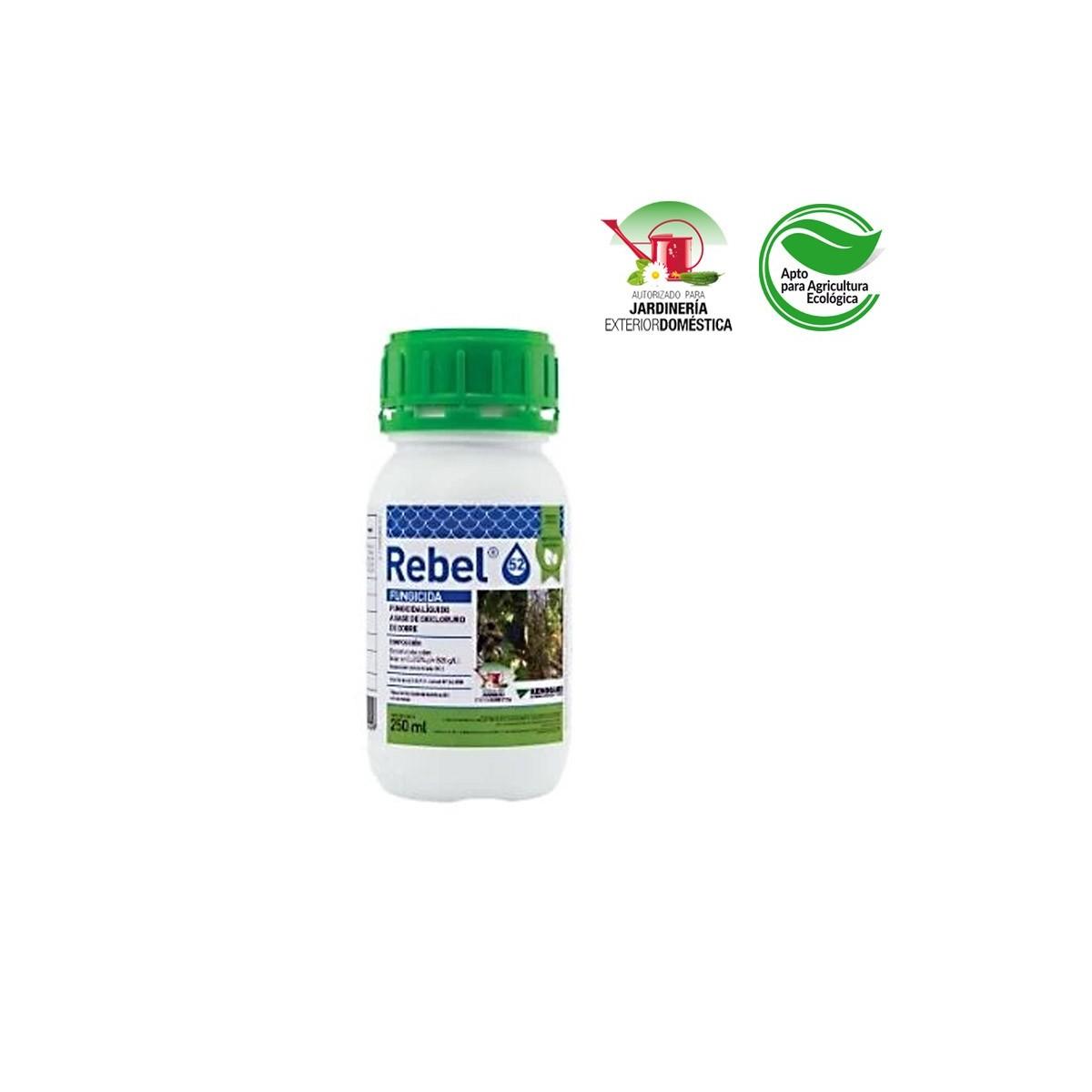 Fungicida rebel 52 250ml (oxicloruro de cobre)