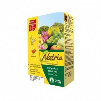 Bayer fungicida natria - elosal gd (agr.ecologica azufre) estuche  3x25g