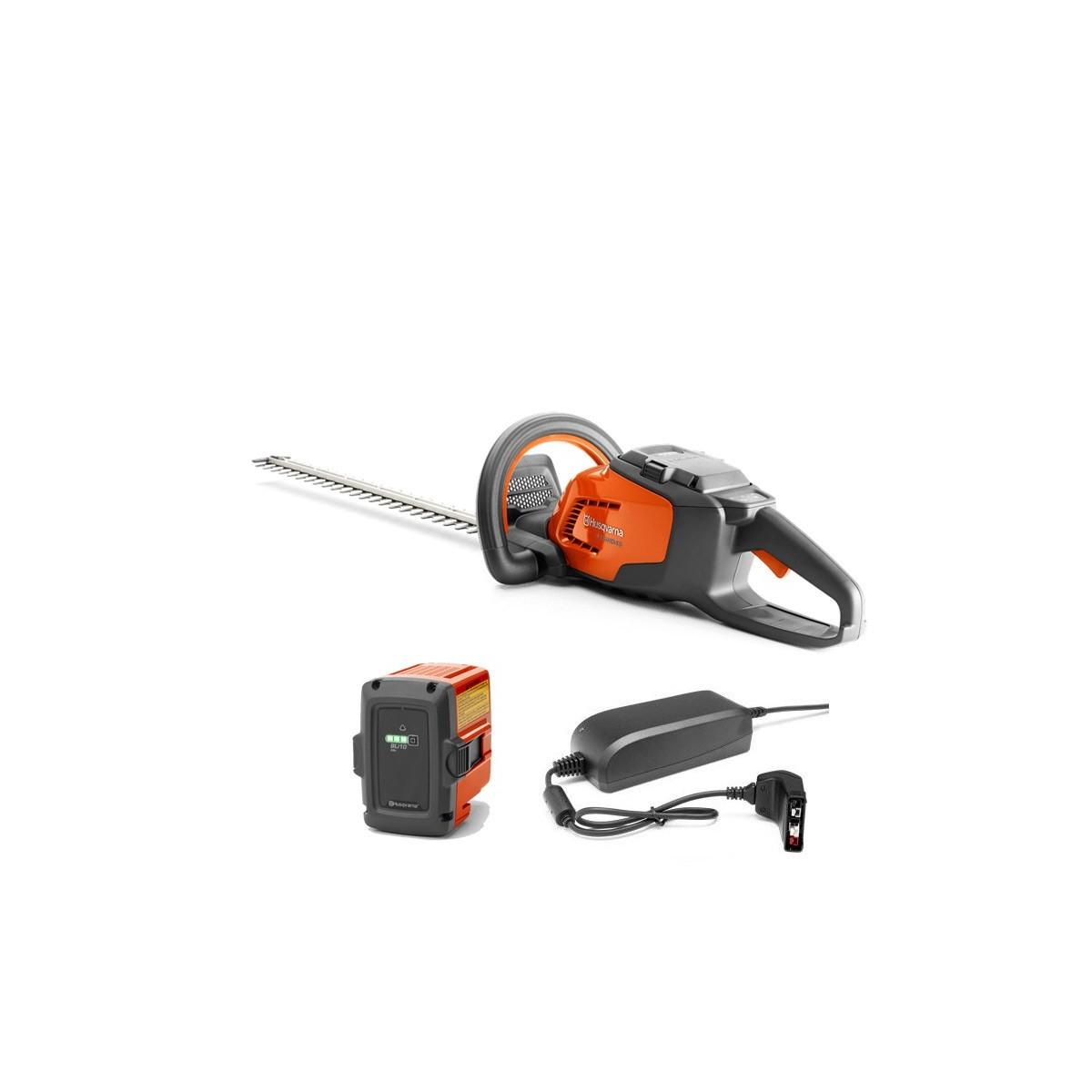 Husqvarna cortasetos bateria-36v  kit 115ihd45 45cm 25mm (bli10 + qc80)