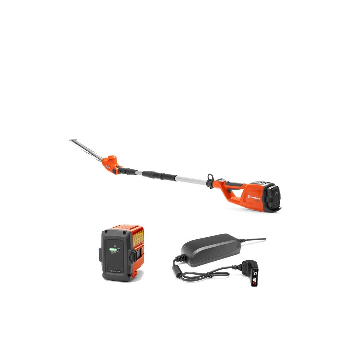 Husqvarna  cortasetos altura bateria-36v 120itk4+h kit (bat y cargador)