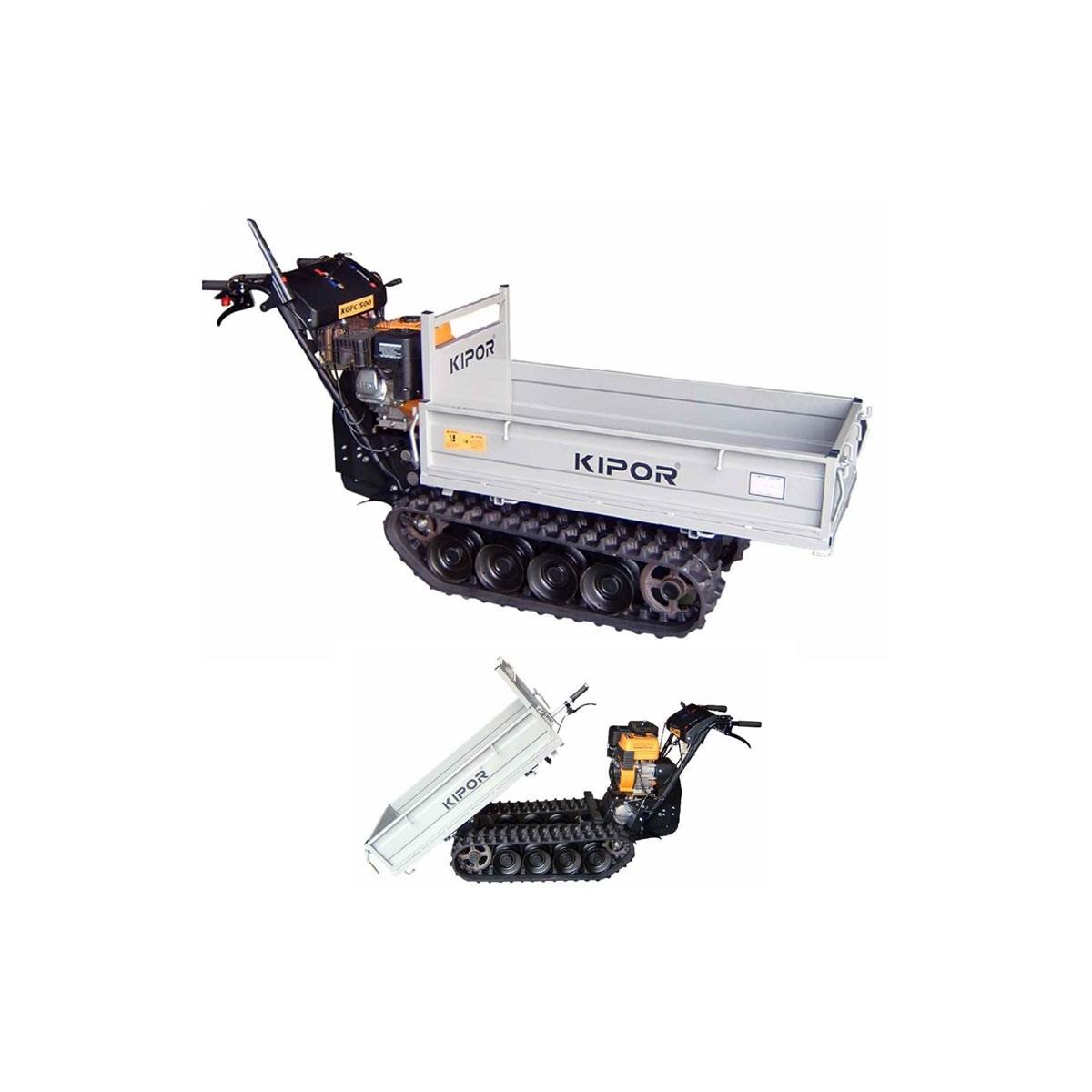 minitransporter carretilla tt kipor kgfc500