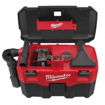 aspirador bateria solidos y liquidos milwaukee m18vc2