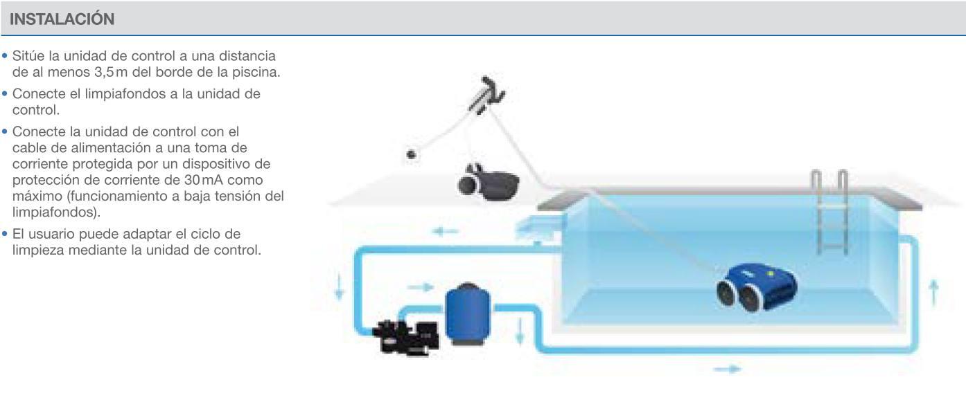 instalacion robots piscina